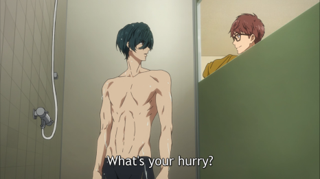Free! Dive to the future episode 2