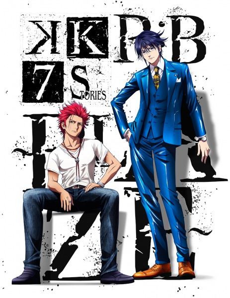 K: Seven Stories 1st Movie Promotional Poster