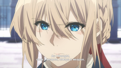Violet Evergarden, episode 8